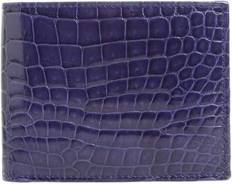 Mezlan Alligator Leather Bifold Wallet