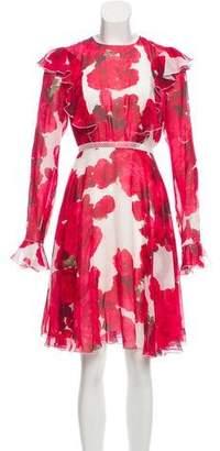 Giambattista Valli Knee-Length Floral Dress w/ Tags
