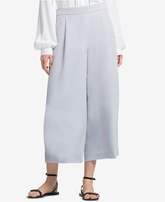 DKNY Cropped Wide-Leg Pants