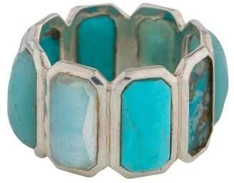 Ippolita Turquoise & Quartz Rock Candy Ring