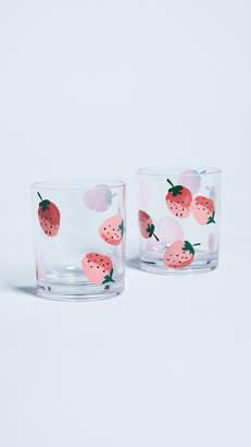 Kate Spade Strawberries Drinkware