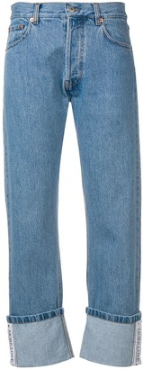 Couture Forte Dei Marmi cropped straight-leg jeans