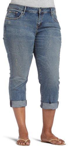 Levi's Women's Plus Easy Fit Straight Leg Boyfriend Jean