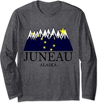 Juneau Alaska - T-Shirt   Long Sleeve Tee - Gift
