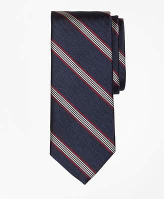 Brooks Brothers Herringbone Music Stripe Tie