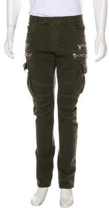 Balmain Skinny Cargo Biker Pants