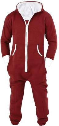 SkylineWears Men's Unisex Onesie Jumpsuit One Piece Non Footed Pajama S