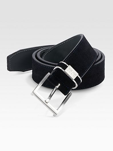 HUGO BOSS Settimo Suede Belt
