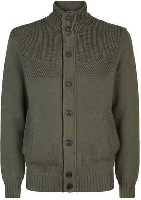 Gieves & Hawkes Cotton and Wool Cardigan