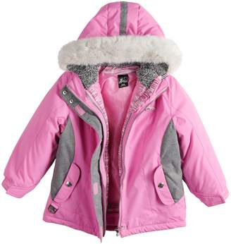 e4d57d09a06e ZeroXposur Girls 4-6x Carol 3-in-1 Systems Jacket