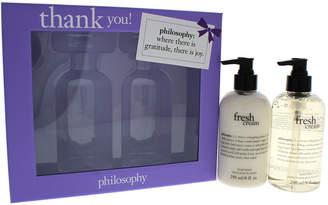 philosophy 8Oz Thank You Hand Cream & Hand Lotion Set