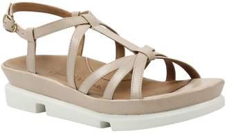 L'amour Des Pieds L'Amour Des Pieds Leather Buckle Sandals - Vanassa