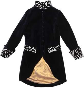 Nikolia Embroidered Velvet Coat