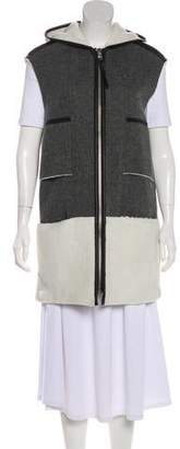 Mcginn Wool Sleeveless Coat