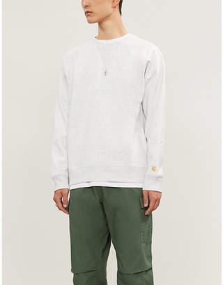 Carhartt Wip Chase logo-embroidered cotton-jersey sweatshirt