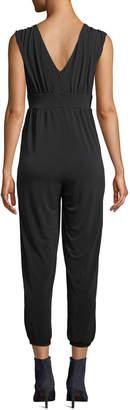 Velvet by Graham & Spencer Stretch Jersey Sleeveless Jumpsuit