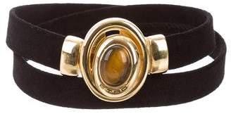 Etro Suede Embellished Belt