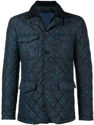 Etro padded paisley jacket