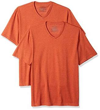 Amazon Essentials Men's 2-Pack Loose-fit V-Neck T-Shirt