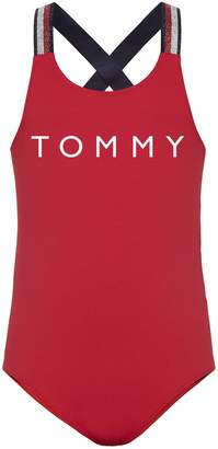 Tommy Hilfiger TH Kids Solid Swimsuit
