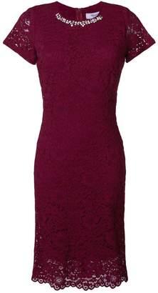 Blugirl jeweled lace dress