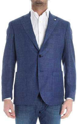 Luigi Bianchi Mantova Single-Breasted Blazer