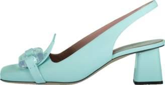 Chanel Rayne Lucite Toe Slingback
