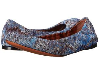 Missoni Scrunch Ballet Flat Women's Flat Shoes