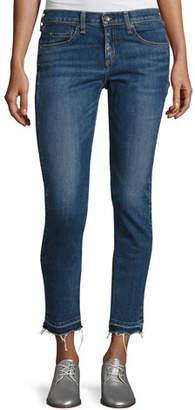 Rag & Bone Dre Skinny Capri Jeans with Released Hem, Livington