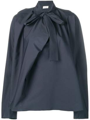 Lemaire pussy bow shirt