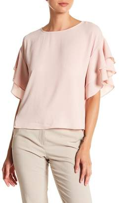 Vince Camuto Drop Shoulder Ruffle Sleeve Blouse