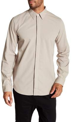 Theory Levy Crepe 2 Standard Fit Shirt