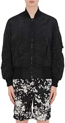 Givenchy Men's Moire Jacquard Bomber Jacket
