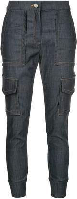 Manning Cartell cargo pocket cropped jeans