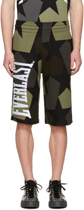 Ports 1961 Brown Everlast Edition Stars Shorts $230 thestylecure.com