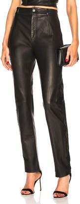 Fleur Du Mal Tailored Leather Pant