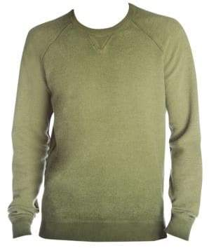 DSQUARED2 Men's Faded Sweatshirt - Military Green - Size Large