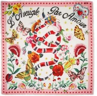 Gucci Garden exclusive modal silk shawl