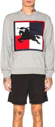 Burberry Wight Printed Crew Neck