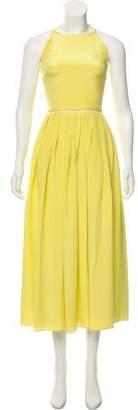Preen by Thornton Bregazzi Silk Maxi Dress
