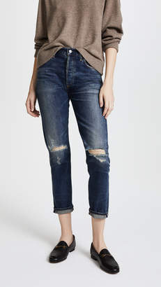 Citizens of Humanity Liya High Rise Crop Jeans