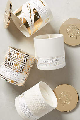 Candlefish Ceramic Candle