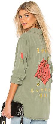 Lauren Moshi Sloan Button Up Shirt