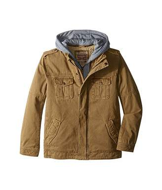 Levi's Kids Zip Canvas Jacket (Big Kids)