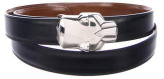 Cartier Leather Panther Waist Belt