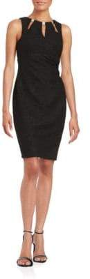 Eliza J Cutout Detail Sheath Dress