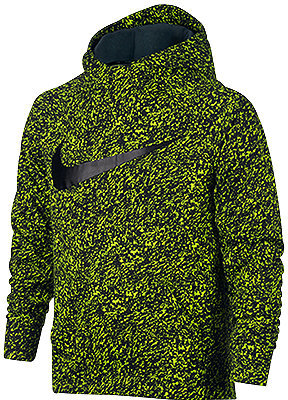 Nike Boys' Therma Dri-FIT Swoosh Hoodie $50 thestylecure.com