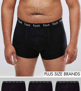 French Connection PLUS 3 Pack Boxers