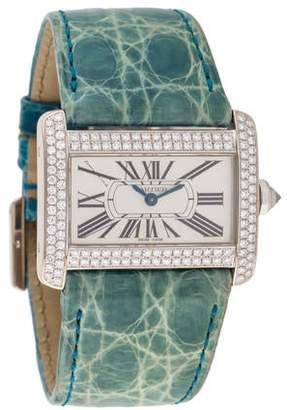 Cartier Tank Divan Watch
