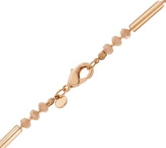 """Susan Graver 40"""" Crystal Tassel Necklace"""